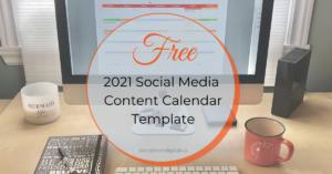 Dandelion Digital Content Calendar