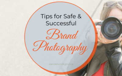 Tips For a Safe & Successful Brand Photography Session.