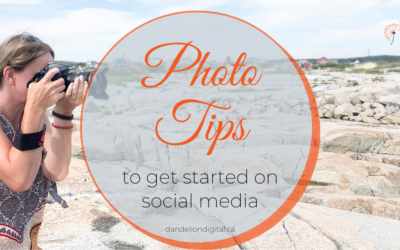 3 Photo Tips to Get Started on Social Media