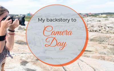 Me & My Camera. A Camera Day Tale.
